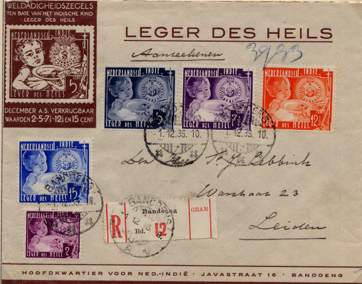 Leger des Heils in Nederlands Indië